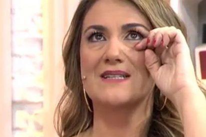 El llanto desconsolado de Carlota Corredera al contar toda la verdad sobre la enfermedad de Jorge Javier Vázquez