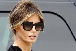 Las pruebas de que la guapa Melania Trump tiene una doble por la cara