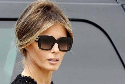 Melania Trump habla por primera vez después de que los periodistas declaren presidente a Biden