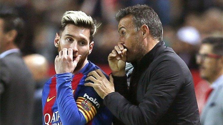 Luis Enrique rompe el silencio y confiesa su problema con Lionel Messi