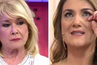 Un micro abierto emite la burla de Mila Ximénez a Carlota Corredera y estalla 'Sálvame'