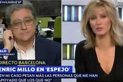 La indepentista TV3, pagada con dinero público, se burla de que Millo donara un riñón para salvar a su mujer