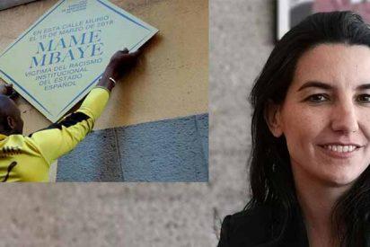 "Rocío Monasterio: ""Si Carmena no retira inmediatamente la placa a Mame Mbaye, lo hará VOX"""