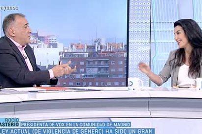 """Tensión en TVE: Rocío Monasterio estalla ante la encerrona de Fortes y sus tertulianos y acusa a los medios de comunicación """"de mentir a los españoles"""""""