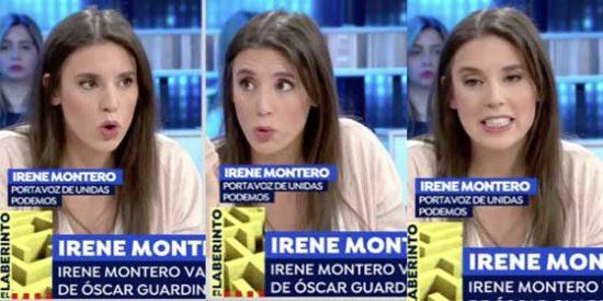 """Irene Montero cuela un montón de mentiras sobre """"la intachable trayectoria"""" de Jaume Asens y los tertulianos de Atresmedia no saben ni por dónde les sopla el viento"""