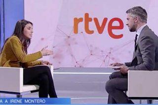 """Irene Montero abronca a Franganillo por preguntarle por el casoplón de Galapagar: """"Pablo Iglesias y yo hacemos con nuestro dinero lo que nos da la gana"""""""