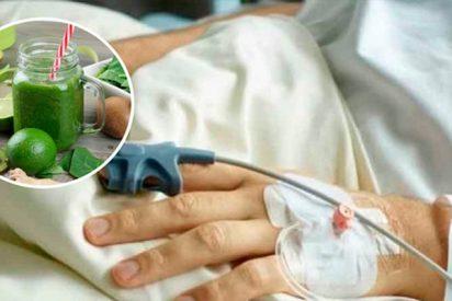 ¡Qué locura!: Se inyecta jugo de frutas para 'enriquecer' su organismo y sufre daños irreparables