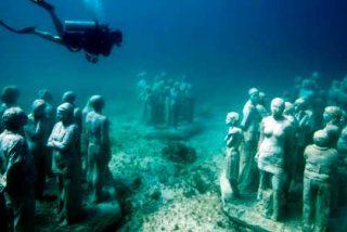 México: Una visita al increíble Museo Subacuático de Arte de Cancún