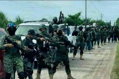 El arsenal 'gringo' del narco mexicano: fusiles Barret, AR-15, granadas y lanzacohetes