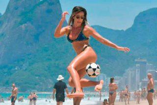Natalia Guitler, la joven que tiene impresionados a los futbolistas brasileños y 'ridiculiza' a Neymar