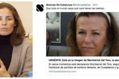 Twitter España se alía con el golpismo y no bloquea las cuentas que ponen en el 'paredón' a la letrada acosada el 20-S