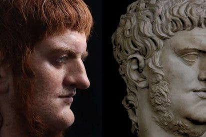 Artista español crea este busto hiperrealista del emperador Nerón