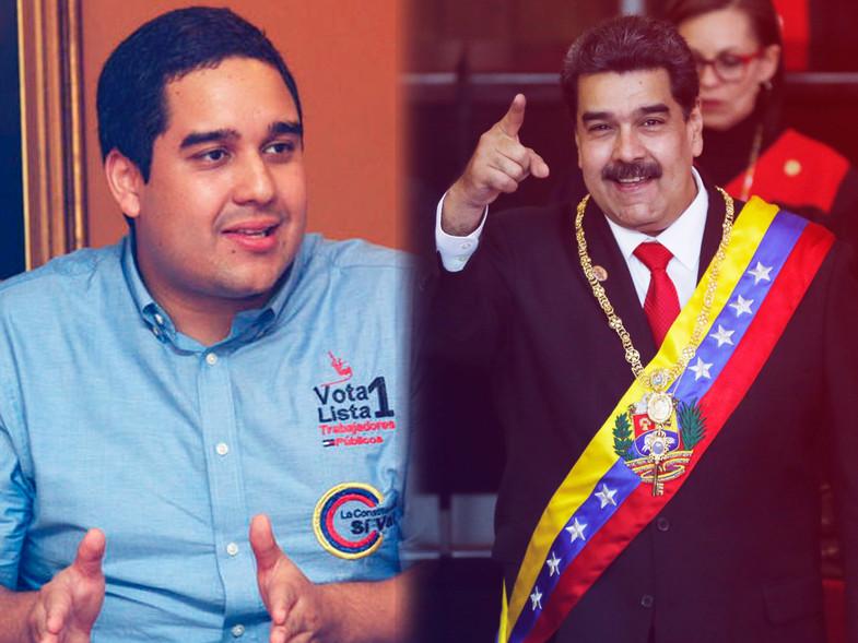 Nicolasito, el hijo de Maduro supervisó una central hidroeléctrica en Venezuela y los memes...