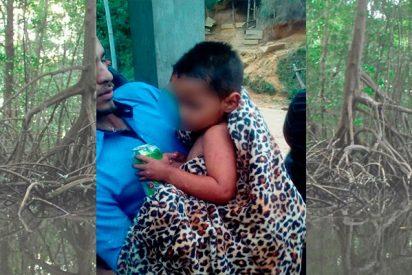 ¿Secuestro? Un niño de 2 años sobrevive 5 días en un monte sin agua, comida, ni ropa de abrigo