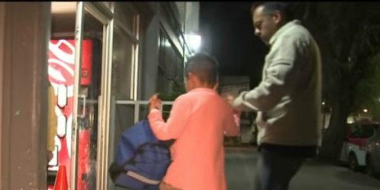 """""""Ahora vuelvo"""": La última mentira que escuchó un niño abandonado por su padre en una esquina"""