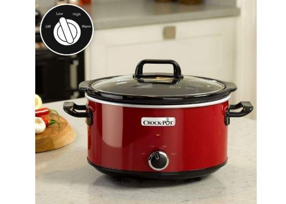 """-Crock-Pot SCV400RD -, color rojo"""""""