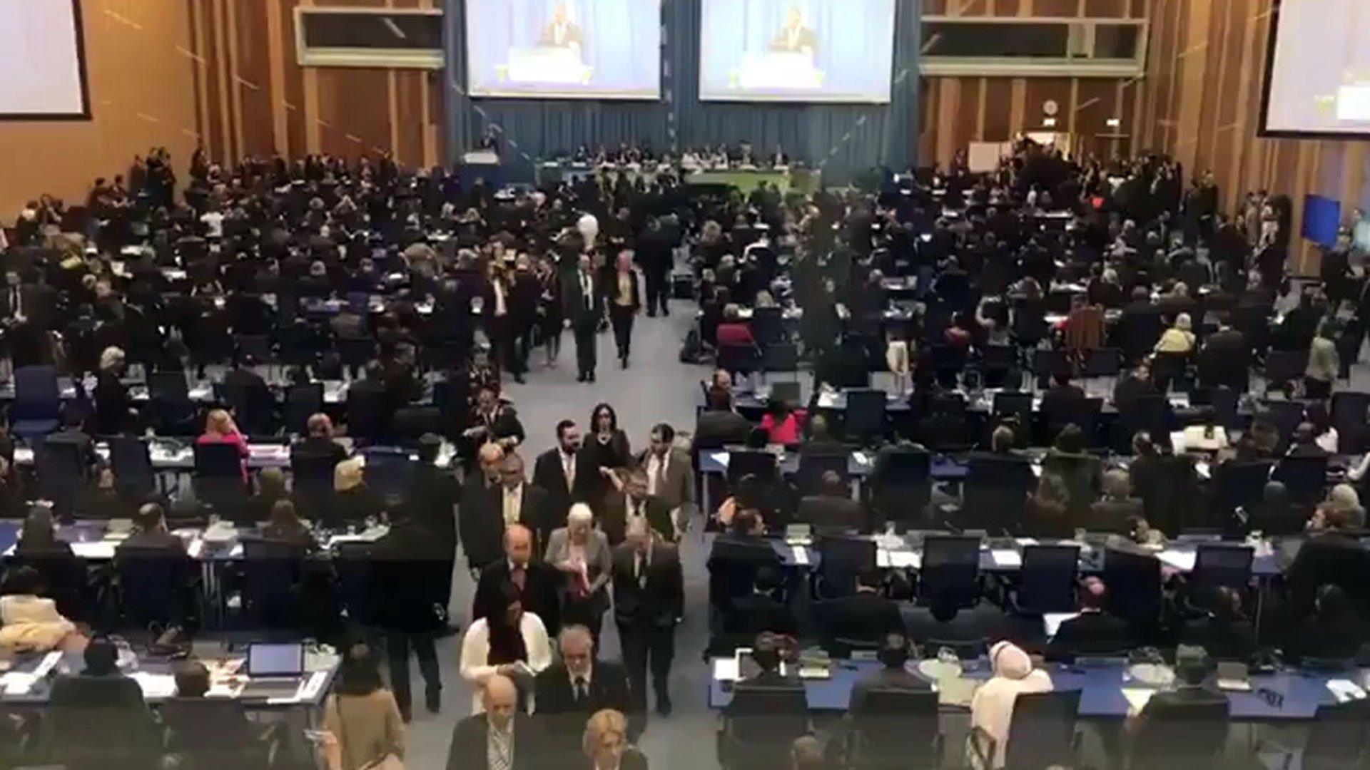 El solitario discurso de la dictadura chavista en la ONU: representantes se levantan cuando habla el canciller