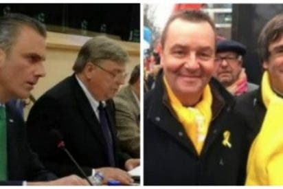 """[VÍDEO] Así destrozó Javier Ortega Smith a un sicario del separatismo en Bruselas: """"Ya puede ir a cobrar el donativo del cobarde Puigdemont"""""""