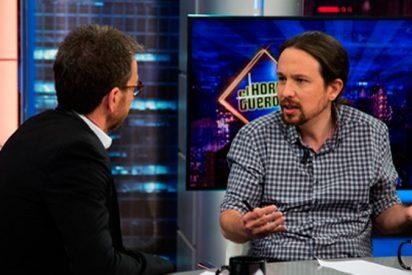 Pablo Iglesias hunde la audiencia de 'El Hormiguero'