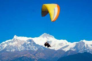 ¿Dónde practicar parapente en Nepal?