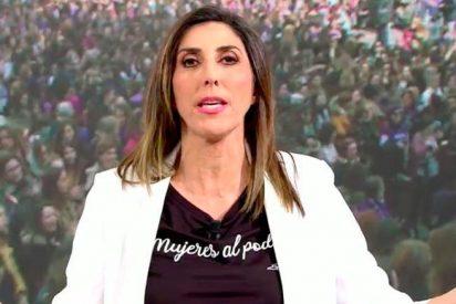 El numerito escénico de Paz Padilla en 'Sálvame' el Dia de la Mujer