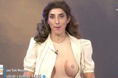 El 'desnudo' de Paz Padilla que ha cabreado mucho a su hija