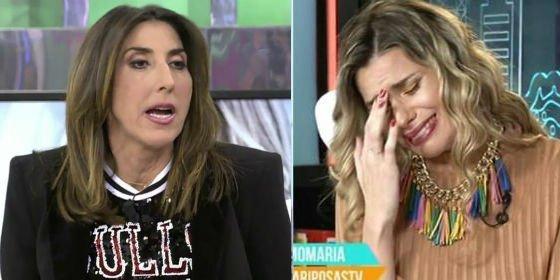 """Paz Padilla deja en ridículo a María Lapiedra: """"¿Tú te crees que aquí nos chupamos el dedo?"""""""