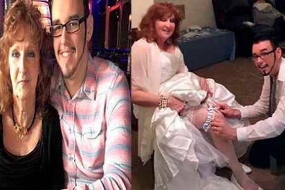 La señora de 72 años que se casó con un adolescente de 19 ahora es youtuber y habla de sexo