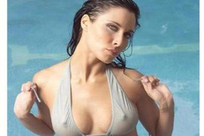 Pilar Rubio se quita el sujetador
