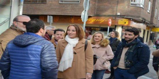 """Pilar Vicente (Cs) critica la """"dejadez y abandono"""" de Puente"""