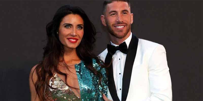 A Sergio Ramos sólo le quen la bella Pilar Rubio y sus hijos, para consolarse tras la derrota del Real Madrid