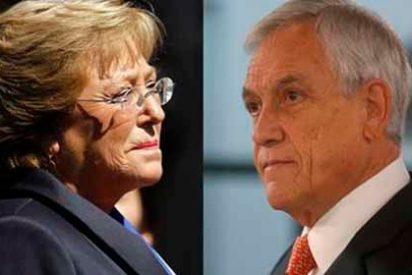 El presidente chileno Sebastián Piñera acusa de tibia a Bachelet por no condenar la dictadura chavista