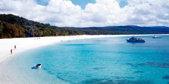 Whitehaven, Australia, una de las playas más bellas del mundo