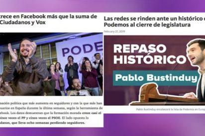 Así fabrica Podemos sus 'fake news' con una herramienta que hace que parezcan reales