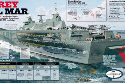 La victoria del buque insignia de la Armada española sobre sociatas, proetarras y casposos