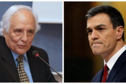 Raúl del Pozo le borra la sonrisa a Pedro Sánchez advirtiéndole del peligro que le aguarda en una repetición electoral