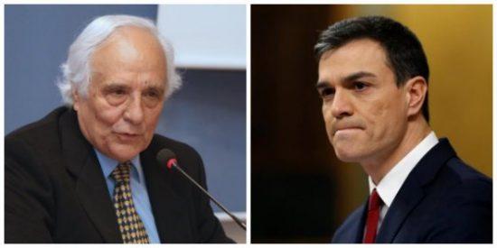 """Raúl del Pozo deja en evidencia al olvidadizo Pedro Sánchez: """"La rufianería del 'no es no' ha sido superada por su propio autor"""""""