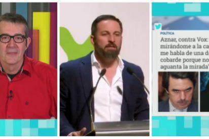 """La golpista TV3 jalea al bufón de 'Mínimo' Pradera y este se viene arriba llamando """"hijo de facha"""" a Abascal y """"psicótico"""" a Aznar"""