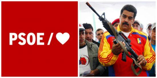 El PSOE sigue dando largas y no se suma a la condena europea contra el dictador Maduro