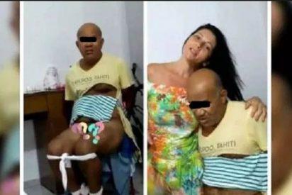 Quema los genitales de su pareja al conocer que había violado a su hija