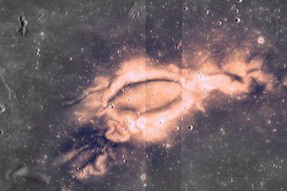 La NASA muestra las 'quemaduras de sol' de la Luna y explica por qué el satélite las sufre