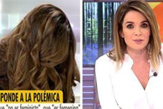 Isabel Rábago, muy afectada, se repone para responder con dureza a Carme Chaparro y demás feministas inquisidoras