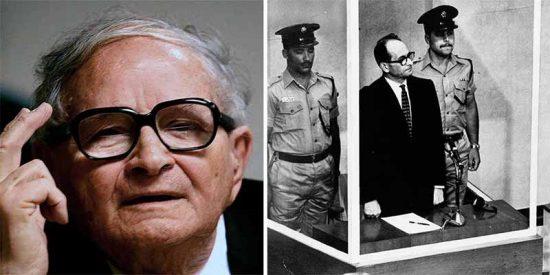 Muere Rafi Eitan, el agente del Mossad que capturó al asesino nazi Adolf Eichmann en Argentina