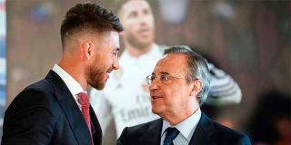 Tremenda bronca entre Sergio Ramos y Florentino Pérez: Uno dice 'te echo del Real Madrid' y el otro replica 'me pagas y me voy'