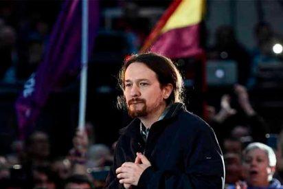 Ikurriñas proetarras, esteladas independentistas y tricolores republicanas en el regreso de Pablo Iglesias, pero ni una sola bandera de España