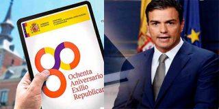 El socialista Pedro Sánchez declara la III República en el Ministerio de Asuntos Exteriores de España