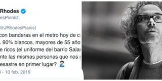 """El pianista 'progre' que solo vio en Colón a """"blancos del barrio de Salamanca"""" ahora hace anuncios para la banca"""