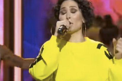 La espantosa actuación de Rosa de España en este programa de televisión