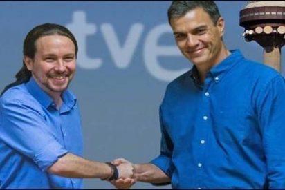 La TVE de Podemos y Pedro Sánchez monta 'bombas electorales' contra PP y Vox
