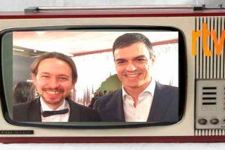 """""""Las teles compradas y la sociedad adoctrinada"""", el vídeo de Iglesias y Sánchez que revienta las redes"""